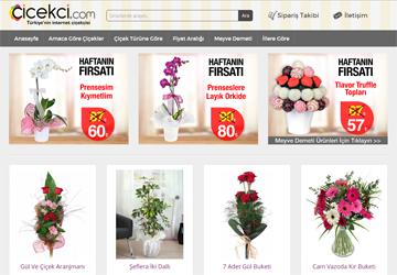 Çiçekçi.com Çiçek Gönderim Sitesi
