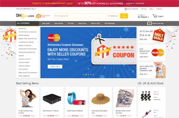 DHgate İndirimli Alışveriş Sitesi