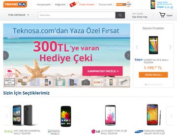 Teknosa Online Alışveriş Sitesi