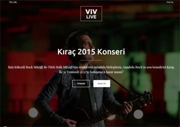 Viv Live İle Canlı Konser İzle