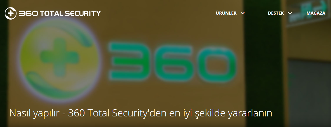 360 Total Security Nasıl