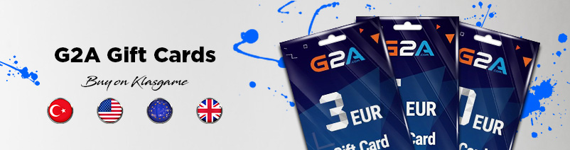 % 25 G2A PS4 Gaming Gift Cards