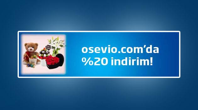 % 20 Osevio Fırsat Kodu
