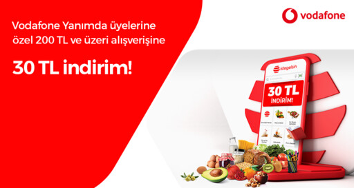 30 TL istegelsin Vodafone İndirimi