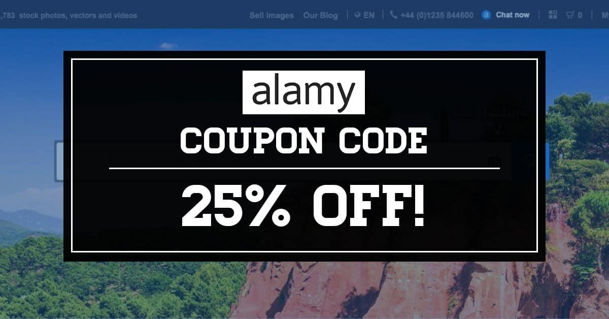 % 20 Alamy Stock İndirim Kodu