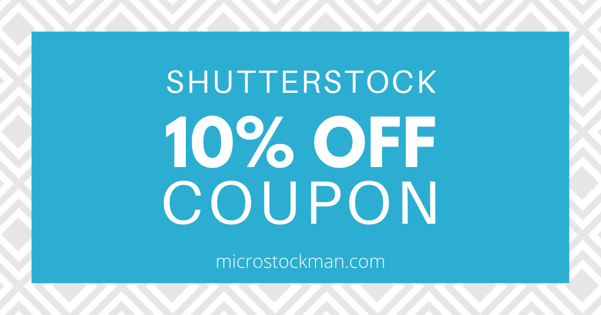 % 10 Shutterstock İndirim Kodu