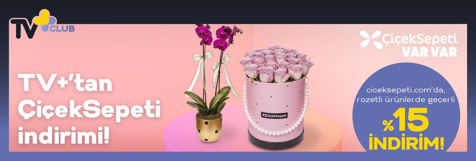 % 15 Çiçek Sepeti Turkcell İndirimi