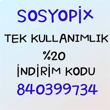 15 TL Sosyopix İndirim Kodu