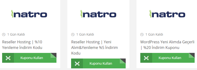 Natro WordPress İndirim Kodu