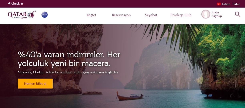 Qatar Airways İndirim Kodu