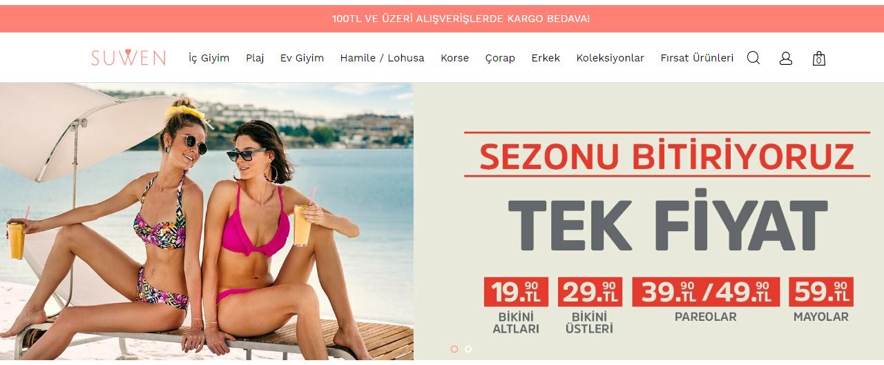 Suwen Online Alışveriş