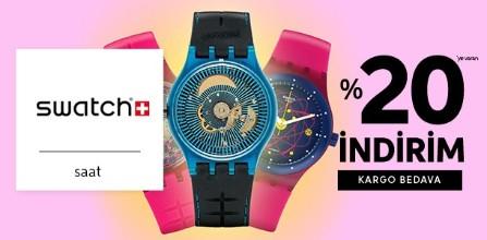 % 20 Swatch İndirim Kampanyası