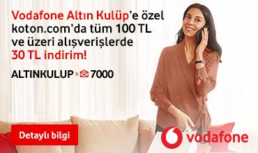 30 TL Koton Vodafone İndirimi